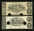 Confederate Notes:1863 Issues, T58 and T59.. ... (Total: 2 notes)