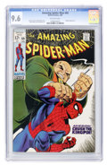 Silver Age (1956-1969):Superhero, The Amazing Spider-Man #69 (Marvel, 1969) CGC NM+ 9.6 Off-white pages....