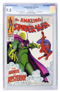 The Amazing Spider-Man #66 (Marvel, 1968) CGC NM/MT 9.8 Off-white pages