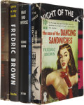 Books:First Editions, Fredric Brown. Five First Editions, including: The Case of theDancing Sandwich. 1950. Dell paperback original.... (Total: 5Items)