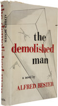 Books:First Editions, Alfred Bester. The Demolished Man. Chicago: ShastaPublishers, [1953]. First edition....