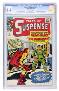 Tales of Suspense #51 (Marvel, 1964) CGC NM 9.4 Off-white pages