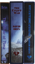 Books:Signed Editions, David Brin. Three Deluxe Signed Limited Editions, including:...(Total: 3 Items)