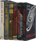Books:First Editions, John W. Campbell, Jr. Six First Editions, including: TheMightiest Machine. [and:] The Moon is Hell! [an...(Total: 6 Items)