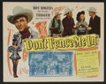 "Movie Posters:Western, Don't Fence Me In (Republic, 1945). Lobby Card Set of 8 (11"" X 14""). Western.. ... (Total: 8 Items)"