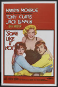 """Movie Posters:Comedy, Some Like It Hot (United Artists, 1959). One Sheet (27"""" X 41"""").Comedy.. ..."""