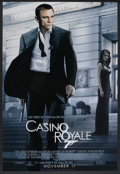 "Movie Posters:James Bond, Casino Royale (MGM, 2006). One Sheet (27"" X 40"") SS Advance Style B. James Bond.. ..."