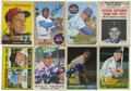 Autographs:Sports Cards, 1950s-60s Baseball Stars Signed Trading Cards Lot of 24....