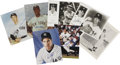 Autographs:Photos, New York Yankees Stars Signed Photographs Lot of 9....