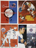 Autographs:Others, 1964-73 Signed World Series Programs Lot of 4....
