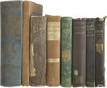 Autographs:Celebrities, [John Brown] John Brown, Jr., Eight Books Signed. The younger Brown, first born of the fervent abolitionist's twenty childre... (Total: 8 Items)