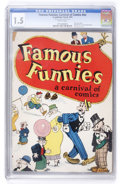 Platinum Age (1897-1937):Miscellaneous, Famous Funnies: A Carnival of Comics #nn (Eastern Color, 1933) CGCFR/GD 1.5 Brittle pages....