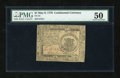 Colonial Notes:Continental Congress Issues, Continental Currency May 9, 1776 $1 PMG About Uncirculated 50....