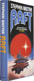 Books:First Editions, Stephen Baxter. Raft. London: Grafton, [1991]. Firstedition....