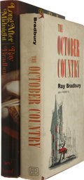 Books:First Editions, Ray Bradbury. Two First Editions, including: The OctoberCountry. [1955]. Publisher's red cloth. Currey's second sta...(Total: 2 Items)