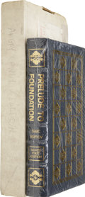 Books:Signed Editions, Two Signed Science Fiction Titles Published by the Easton Press, including: Isaac Asimov. Prelude to Foundation.... (Total: 2 Items)