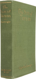 Books:First Editions, Edgar Rice Burroughs. The Son of Tarzan. Chicago: A. C.McClurg, 1918. First edition, later impression (Heins ST...