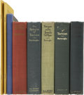 Books:Fiction, Edgar Rice Burroughs. Eight Books, including:... (Total: 8 Items)
