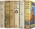 Books:First Editions, Edgar Rice Burroughs. Six Grosset & Dunlap Titles,... (Total: 6Items)