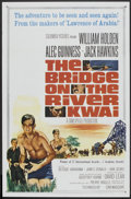 "Movie Posters:War, The Bridge On The River Kwai (Columbia, R-1963). One Sheets (2)(27"" X 41"") and Pressbook (Multiple Pages, 11"" X 17""). War....(Total: 3 Items)"