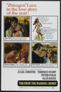 "Movie Posters:Romance, Far from the Madding Crowd (MGM, 1967). One Sheet (27"" X 41"") and Press Book (Multiple Pages) (12"" X 17""). Romance.. ... (Total: 2 Items)"