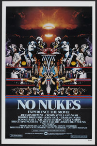 """No Nukes (Warner Brothers, 1980). One Sheet (27"""" X 41""""). Rock and Roll"""