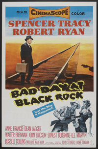 "Bad Day at Black Rock (MGM, 1955). One Sheet (27"" X 41""). Thriller"