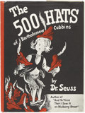 Books:Signed Editions, Dr. Seuss. The 500 Hats of Bartholomew Cubbins. New York:The Vanguard Press, [1938]....