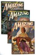 Pulps:Science Fiction, Amazing Stories Group (Ziff-Davis, 1938-52) Condition: AverageVF.... (Total: 63 Items)