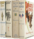 Books:Fiction, Edgar Rice Burroughs. All Four Venus Books Published During HisLife, including: ... (Total: 4 Items)