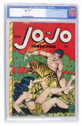 Golden Age (1938-1955):Adventure, Jo-Jo Comics #20 (Fox Features Syndicate, 1948) CGC NM 9.4 White pages....