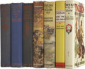 Books:Fiction, Edgar Rice Burroughs. Seven Tarzan Books, including:... (Total: 7Items)