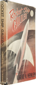 Books:First Editions, Robert A. Heinlein. Rocket Ship Galileo. New York: CharlesScribner's Sons, 1947. First edition, later printing....