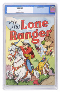 Lone Ranger #1 (Dell, 1948) CGC NM/MT 9.8 White Pages