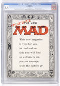 Magazines:Mad, Mad #24 (EC, 1955) CGC NM 9.4 Off-white pages....