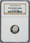 Proof Roosevelt Dimes: , 1992-S 10C Silver PR69 Ultra Cameo NGC. PCGS Population (2271/105).Numismedia Wsl. Price for NGC/PCGS ...