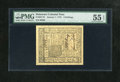 Colonial Notes:Delaware, Delaware January 1, 1776 6s PMG About Uncirculated 55 EPQ....