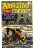Silver Age (1956-1969):Mystery, Amazing Adult Fantasy #13 (Marvel, 1962) Condition: FN....