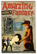 Silver Age (1956-1969):Mystery, Amazing Adult Fantasy #10 (Marvel, 1962) Condition: VG....