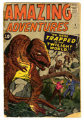 Silver Age (1956-1969):Horror, Amazing Adventures #3 (Marvel, 1961) Condition: FR....