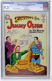 Superman's Pal Jimmy Olsen #73 Northland pedigree (DC, 1963) CGC NM- 9.2 White pages