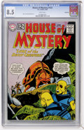 Silver Age (1956-1969):Science Fiction, House of Mystery #123 Northland pedigree (DC, 1962) CGC VF+ 8.5 White pages....