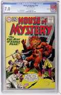 Silver Age (1956-1969):Horror, House of Mystery #120 Northland pedigree (DC, 1962) CGC FN/VF 7.0Off-white to white pages....