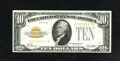 Small Size:Gold Certificates, Fr. 2400 $10 1928 Gold Certificate. Extremely Fine....