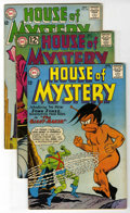 Silver Age (1956-1969):Horror, House of Mystery Group (DC, 1962-65) Condition: Average VG+....(Total: 12)