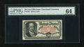 Fractional Currency:Fifth Issue, Fr. 1381 50c Fifth Issue PMG Choice Uncirculated 64....