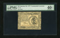 Colonial Notes:Continental Congress Issues, Continental Currency February 26, 1777 $3 PMG Extremely Fine 40EPQ....
