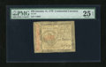 Colonial Notes:Continental Congress Issues, Continental Currency January 14, 1779 $50 PMG Very Fine 25 EPQ....