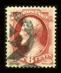 Stamps, #148, 1870, 6c Carmine, XF-S 95 PSE. (Used)....