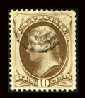 Stamps, #161, 1873, 10c Brown, XF-S 95 PSE. (Used)....